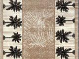 Palm Tree Design area Rugs Palm Tree Modern area Rug Tropical Beige & Green Design 729 5 Feet X 7 Feet