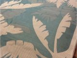 """Palm Tree Design area Rugs Palm Tree Rug Outdoor Indoor Rug Costal Floral 8 6""""x13 Rug"""