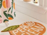 Peach Bath Rug Set Peachy Clean Bath Mat