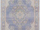 Periwinkle Blue area Rug Periwinkle Lavender Blue Shabby Chic Rug