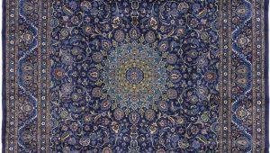 Persian Rug Navy Blue Navy Blue 10 X 13 Kashmar Persian Rug