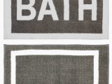 Pine Cone Hill Signature Bath Rug Eugenie Rectangle Non Slip Striped 2 Piece Bath Rug Set