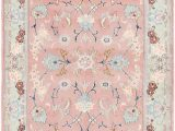 Pink and Blue Persian Rug Pink 90cm X 145cm Tabriz Persian Rug