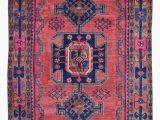 Pink and Blue Persian Rug Semi Antique Pink and Blue Persian Hamadan oriental Runner