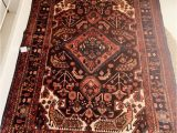 Pink and Blue Persian Rug Wool Persian Rug Dusty Pink Blue