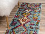 Pink and Turquoise area Rug Callista southwestern Turquoise Pink Yellow area Rug