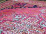 Pink Blue area Rug Pink area Rug 8×10