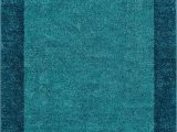Plain Blue area Rug Well Woven Frontier Border Blue Modern Plain 8×11 710 X 106 area Rug Simple Geometric Pattern Contemporary Thick soft Plush