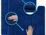 Plush Bath Rug Sets 3 Pc Set Luxuriously Plush Microfiber Bathroom Rugs