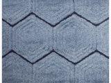 Plush Blue area Rug Garvyn Plush Carved Blue area Rug