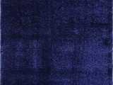 """Plush Blue area Rug Ladole Rugs Shaggy soft Plush Smooth solid Plain Color Modern Durable area Rug Carpet for Living Room Bedroom In Navy Blue 5 3"""" X 7 6"""" 160cm X 230cm"""
