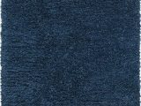 Plush Navy Blue Rug Infinity Collection solid Shag area Rug by Rugs – Cobalt 4 X 6 High Pile Plush Shag Rug Perfect for Entryways Bedrooms Living Rooms and More