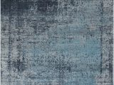Plush Navy Blue Rug Mod Arte Mirage Collection area Rug Modern & Contemporary Style Abstract soft & Plush Navy Blue Gray