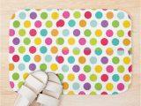 Polka Dot Bath Rug Polka Dot Sweeties Design