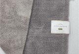 "Pottery Barn Textured organic Bath Rug New Pottery Barn Pb Classic Loop Medium 21"" X 34"" Bath Mat Rug Gray Mist"