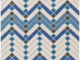 Premier Blue Lines Rug Surya Savannah 2 X 3 area Rug Cobalt Blue