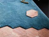 Premier Blue Lines Rug X Materiality by Tsar X byzantine X Luke for Melbourne