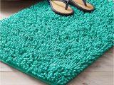 Premium Bath Microfiber Chenille Bath Rug Shop Tchibo Bath Mat Chenille Turquoise for Bath In United