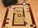 Premium Hand Carved area Rugs Rug Legend Modern High Quality Hand Carved area Rug 5×7 Carpet 1347 Terracotta