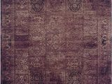 Purple and Brown area Rugs Flat Woven area Rug Purple