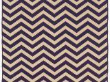 Purple and Brown area Rugs Peake Chevron Handmade Tufted 5 X 8 Wool Purple Brown area Rug