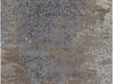 Purple and Brown area Rugs Rupec Collection Hand Tufted area Rug In Grey Blue & Brown