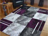 Purple and Brown area Rugs Sahara Purple Marble area Rug