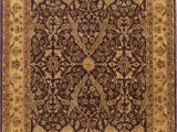 Purple and Gold area Rugs Jewel 437 Purple Gold Made to order Rug