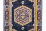 Purple and Gold area Rugs Tirto oriental Purple Gold area Rug