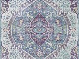 Purple and Lime Green area Rugs Surya Germili Ger 2304 area Rugs
