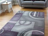 Purple and Silver area Rugs Small Mauve Purple Silver Grey Modern soft Thick Circles Design Carved Rugs Long Hall Runner Mats 6 60x120cm