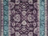 Purple and Turquoise area Rug Mohawk Precision Printed Prismatic Worcester area Rug 8 X10 Purple