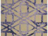 Purple and Yellow area Rug Handmade Wool Modern Yellow Purple 5×8 Lt1126 area Rug