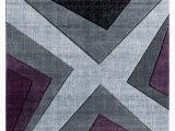 Purple Grey and Black area Rugs Zonia Plum Black Gray area Rug