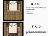 Queen Bed area Rug Size Sugar Cube Interior Basics area Rug Size Guides for Twin