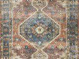 Radiant Floor Heating and area Rugs Skye Rust Blue area Rug