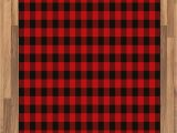 Red and Black Plaid area Rug Ambesonne Plaid area Rug Lumberjack Fashion Buffalo Style Checks Pattern Retro Style with Grid Position Flat Woven Accent Rug for Living Room