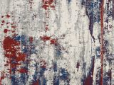 Red and Blue Modern Rug Mae15 Maxell Multicolor This Magnificently Modern Maxell