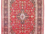 Red and Blue Persian Style Rug Carpet Wiki Kashan Persian Rugs origin Facts