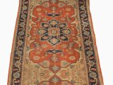 Red and Blue Persian Style Rug Persian Style Red Beige and Blue Runner Carpet 1