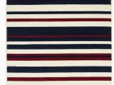 Red and Blue Striped Rug Milan Cream Red Navy Blue Stripy Striped Living Room