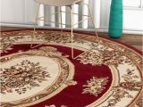Red and Brown area Rugs Walmart Furnishmuplace Traditional Rectangle Round area Rugs Walmart