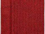 Red Bath Rug Set Garland Rug 2 Piece Sheridan Nylon Washable Bathroom Rug Set Chili Pepper Red