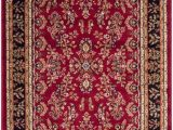 Red Black and Beige area Rugs Lyndhurst Greta Red Black 3 Ft 3 Inch X 5 Ft 3 Inch