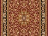 Red Black and Gold area Rugs Dynamic Rugs Yazd 2800 Red Red Rug