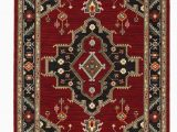 Red Black and Gold area Rugs Nimue oriental Red Black area Rug