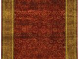 Red Black and Gold area Rugs Rug Gr423a Ganges River area Rugs by Safavieh