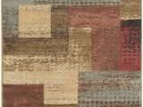 Red Brown and Tan area Rugs Surya Riley Rly 5004 area Rugs