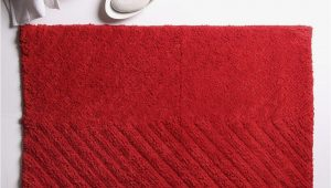 Red Cotton Bath Rug Buy House This Brick Red Cotton Bath Rug 50×80 Cms 20×32