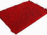 Red Fluffy Bathroom Rugs Amazon Com 60 X 40cm Fluffy Bedroom Rug Bath Mat Doormat
